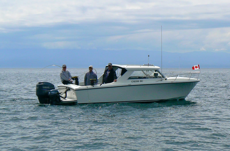 Mark Grant Salmon Charters 23 ft. Hourston Glascraft